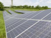 Ferme solaire à Paris-Charles de Gaulle