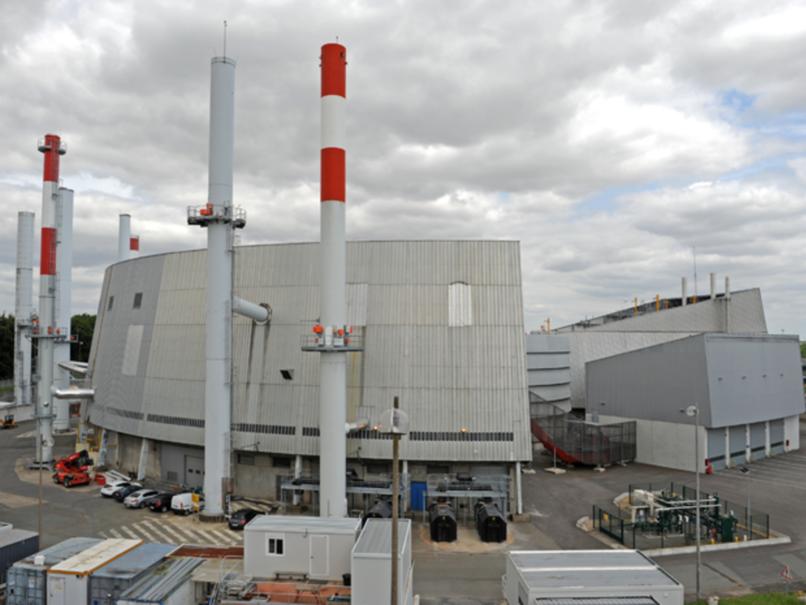 Chaudière biomasse à Paris-Charles de Gaulle