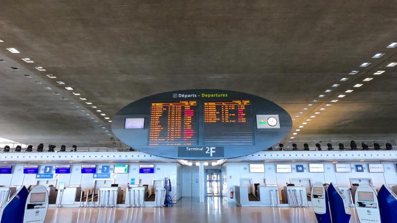 Paris-Charles de Gaulle - Terminal 2F