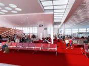 Hall public – terminal 2B