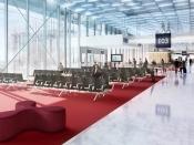 le circuit passagers départ international à Paris-Orly
