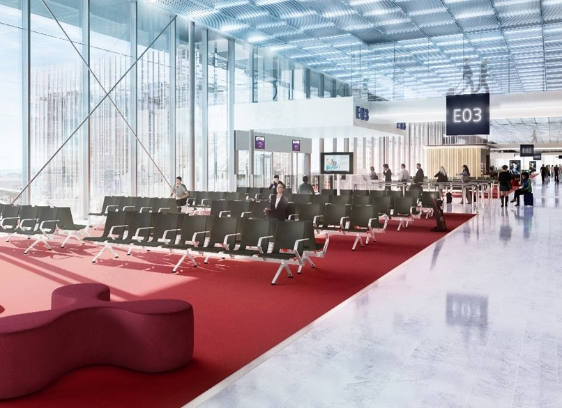le circuit passagers départ international à Paris-Orly