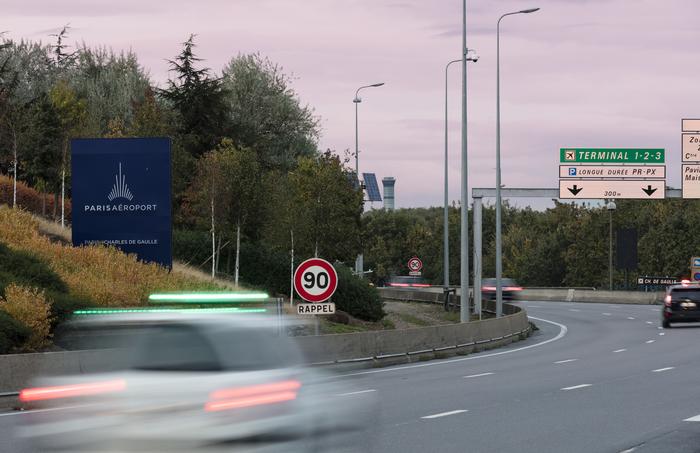 Accès routiers à Paris-Charles de Gaulle