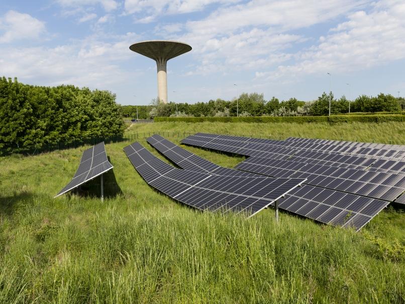 Ferme solaire, panneaux photovoltaïques