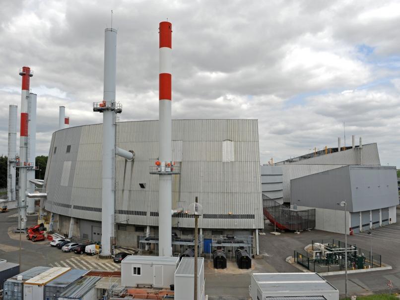 Centrale Thermique Frigorifique et Electrique, avec ses chaudières biomasse