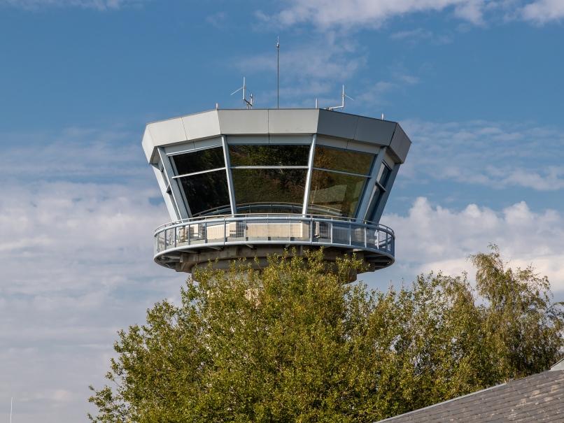 Vigie de l'aérodrome de Pontoise © Arnaud Gaulupeau
