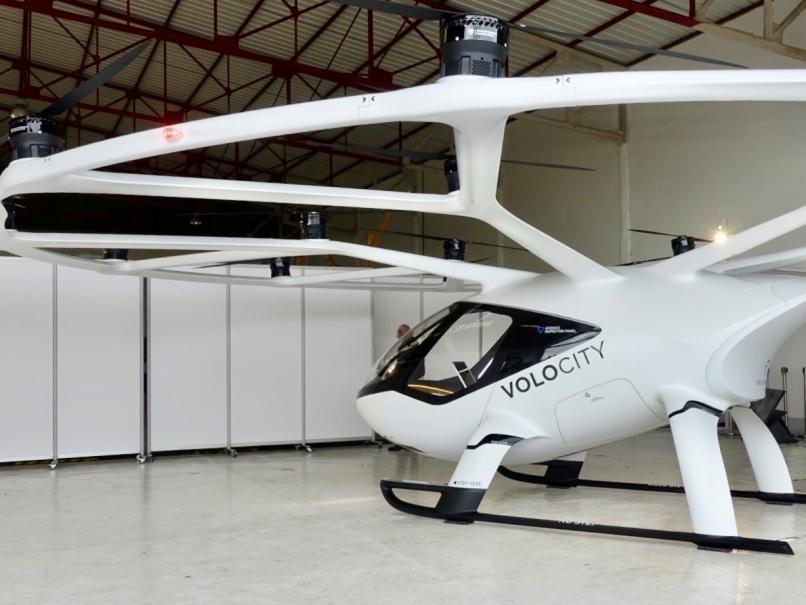 VoloCity à l'aérodrome de Pontoise © Maxime Letertre