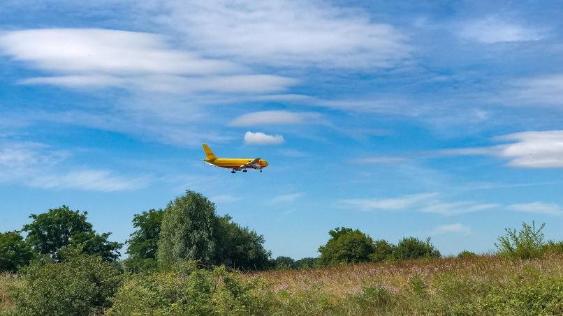 Avion à l'atterrissage à Paris-CDG © Arnaud Gaulupeau