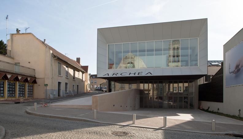 Façade du musée ARCHÉA ©J.-Y. Lacôte/ARCHÉA