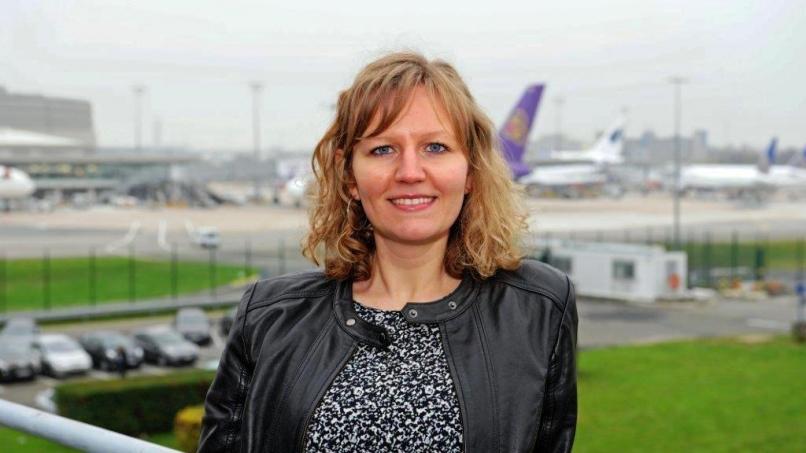 Blandine Landfried, chargée de projet sur l'aéroport hydrogène