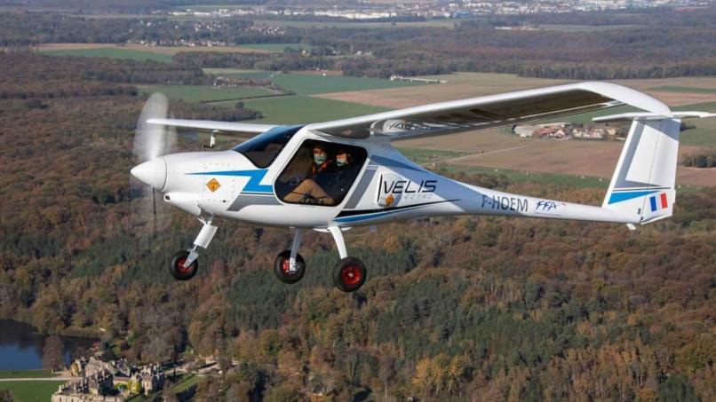 Avion électrique Velis Electro © Jean-Marie Urlacher