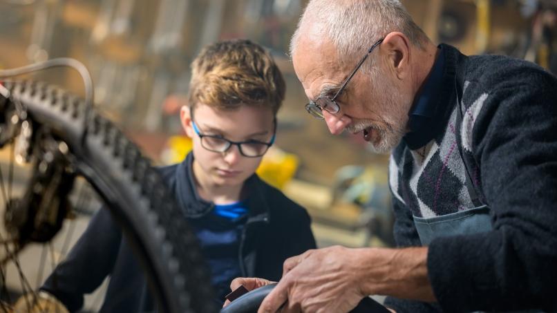 Initiations et ateliers de réparation vélo