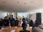 Photographie de la Maison de l'Environnement et du Développement durable (MDE) à Paris-Charles de G