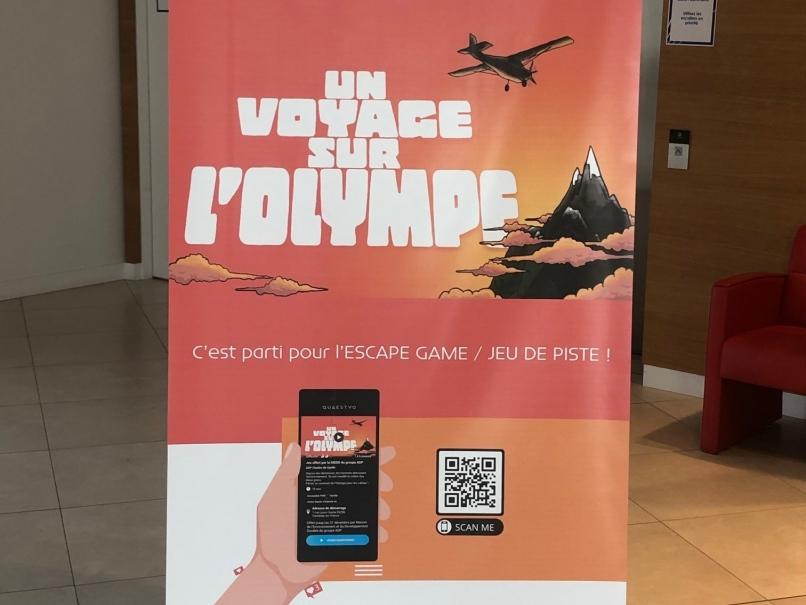 Photographie prise à l'occasion de la Journée du Patrimoine à Paris-Charles de Gaulle