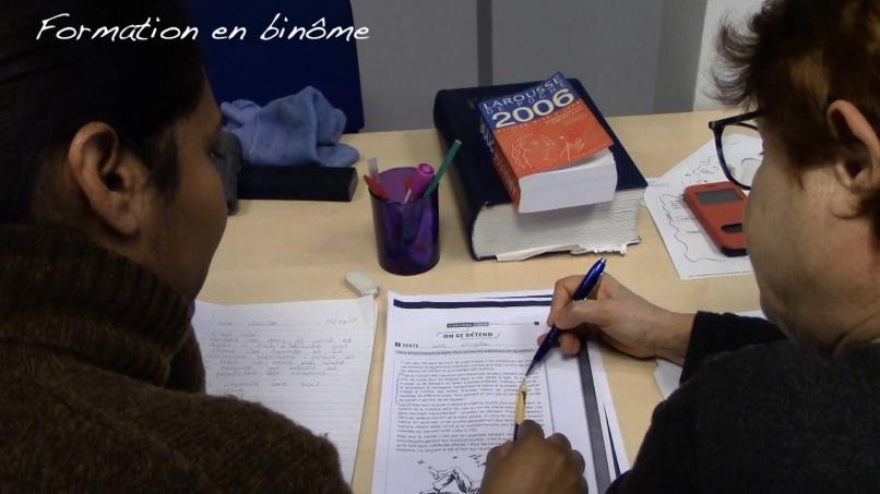 L'association CLE propose un accompagnement en binôme pour réapprendre les savoir fondamentaux