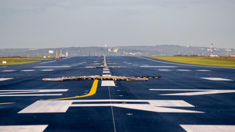 Photographie de la piste 3 à Paris-Charles De Gaulle ©Arnaud Gaulupeau